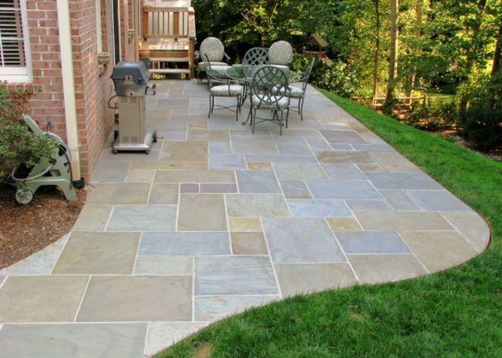 Awesome Flagstone Patio Design Ideas 21
