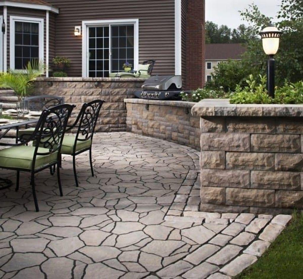 Awesome Flagstone Patio Design Ideas 33