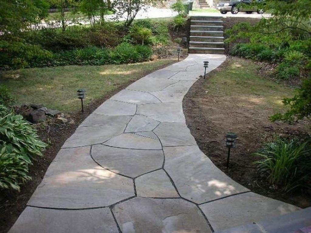 Awesome Flagstone Patio Design Ideas 37