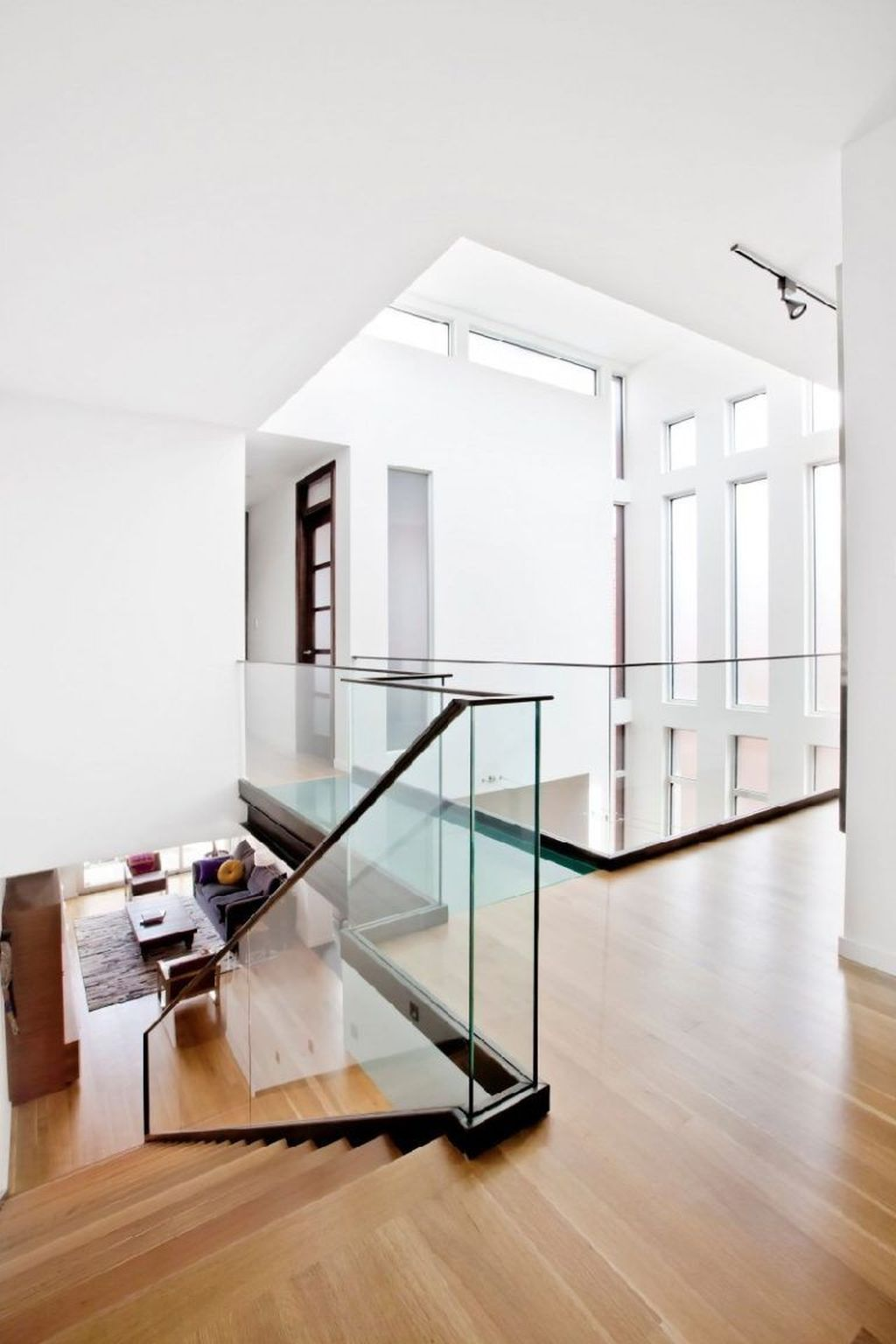 Awesome Modern Glass Railings Design Ideas For Stairs 28