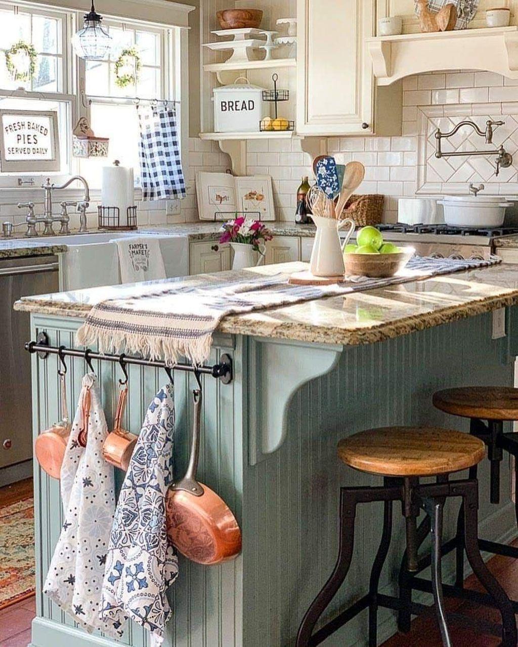 Awesome Retro Kitchen Design Ideas 15