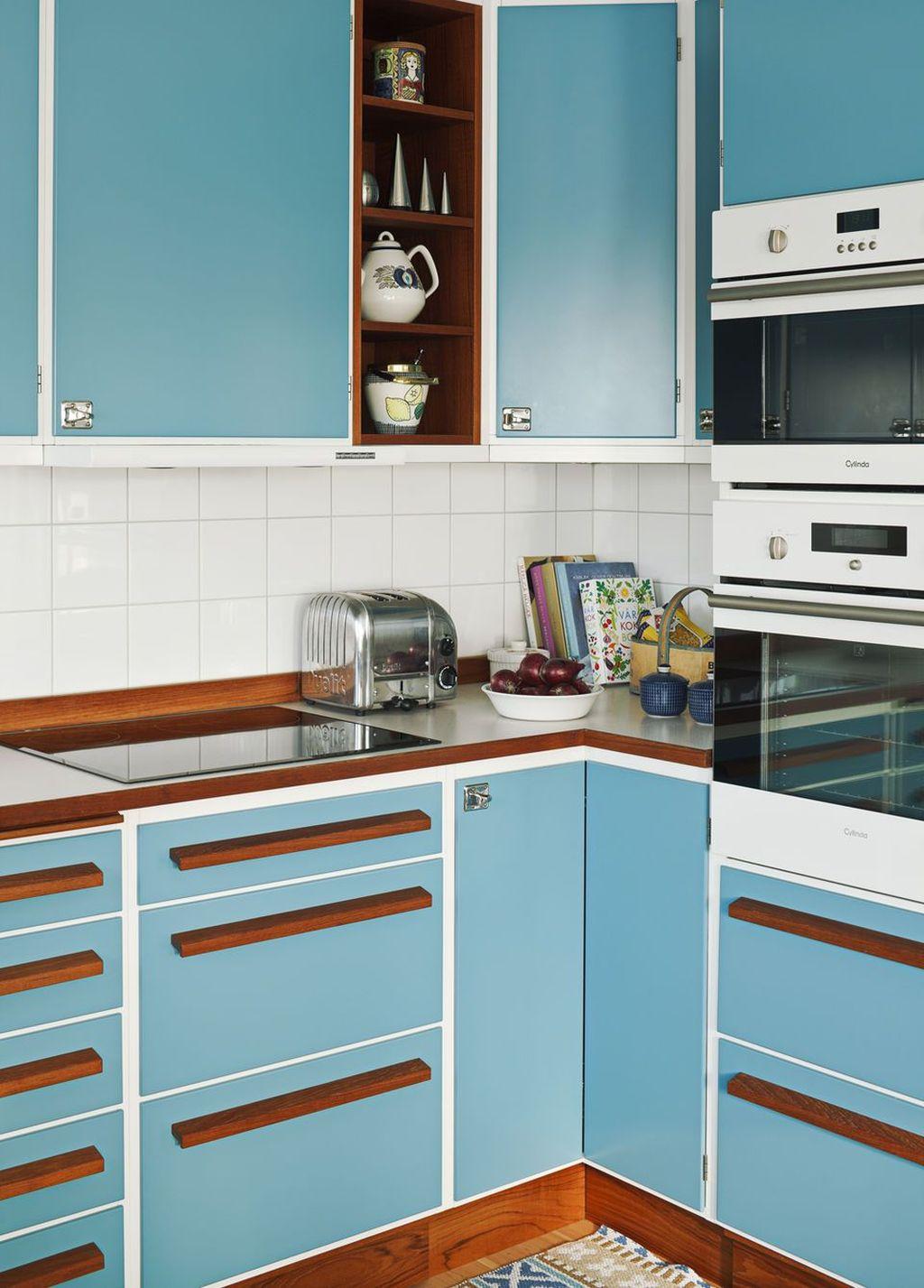 Awesome Retro Kitchen Design Ideas 22