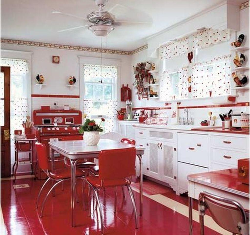 Awesome Retro Kitchen Design Ideas 29