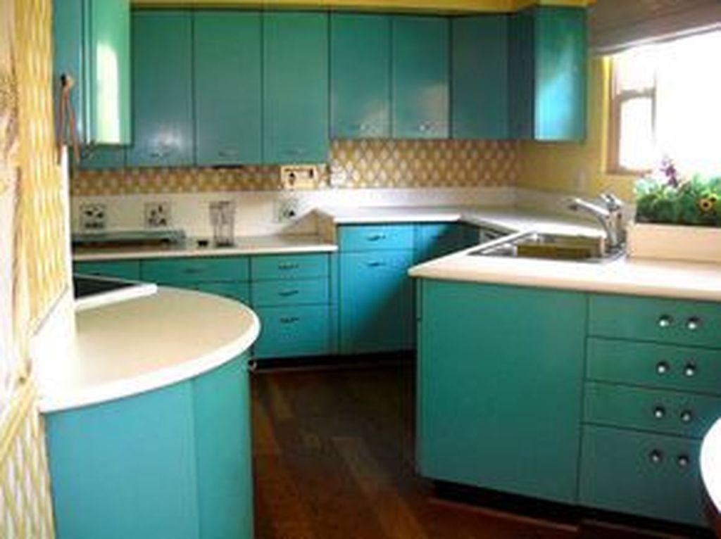 Awesome Retro Kitchen Design Ideas 30