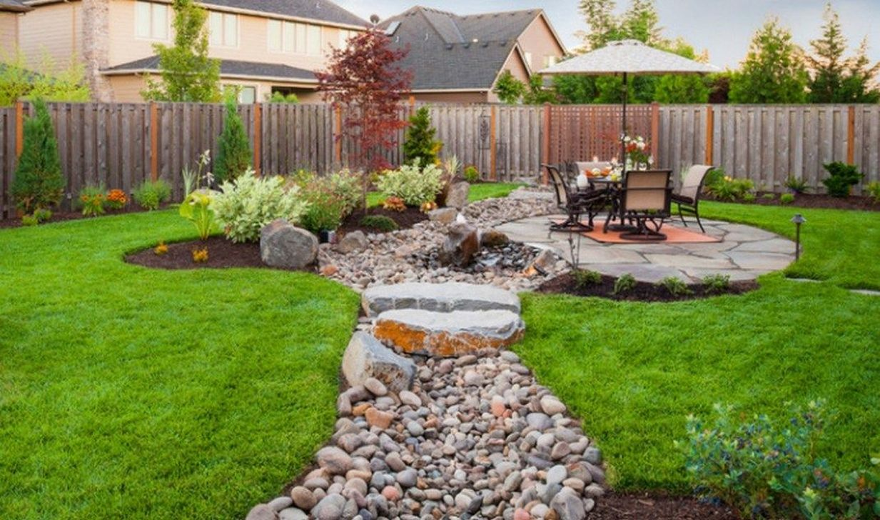 Awesome River Rock Landscaping Ideas 33