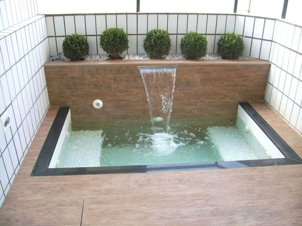 Awesome Small Pools Design Ideas For Beautiful Backyard Landscape 07
