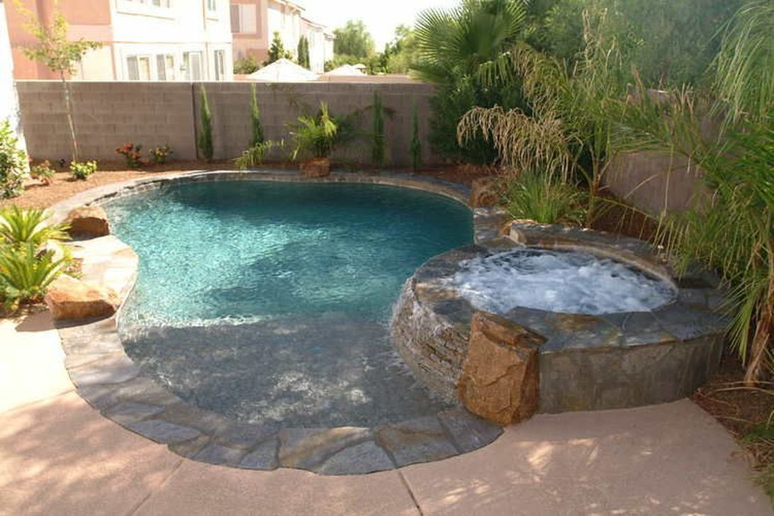 Awesome Small Pools Design Ideas For Beautiful Backyard Landscape 17