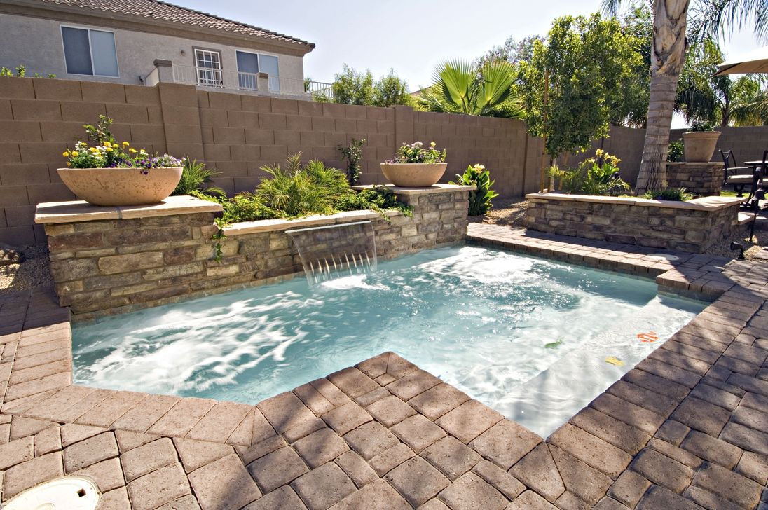 Awesome Small Pools Design Ideas For Beautiful Backyard Landscape 24