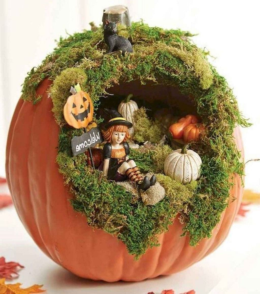 Beautiful Fall Fairy Garden Design Ideas 06