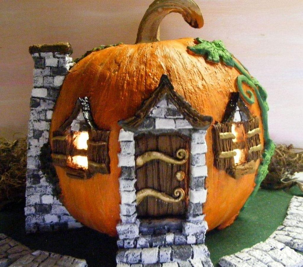 Beautiful Fall Fairy Garden Design Ideas 09