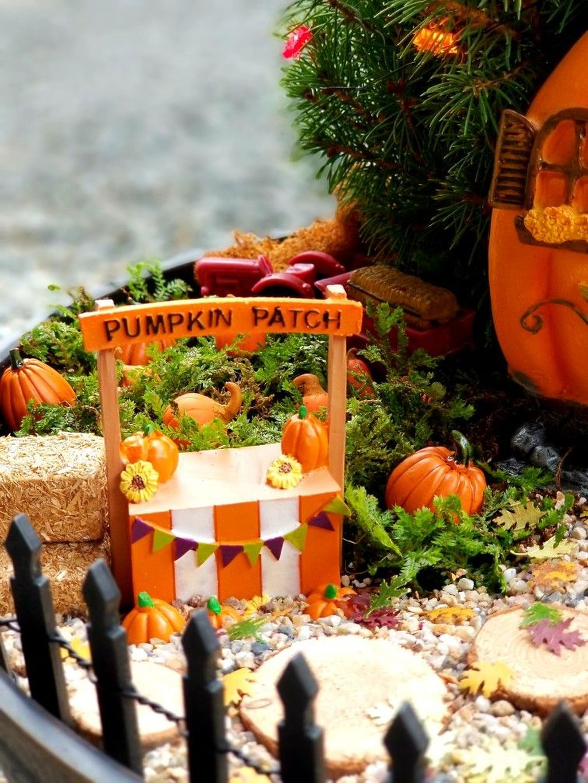 Beautiful Fall Fairy Garden Design Ideas 11