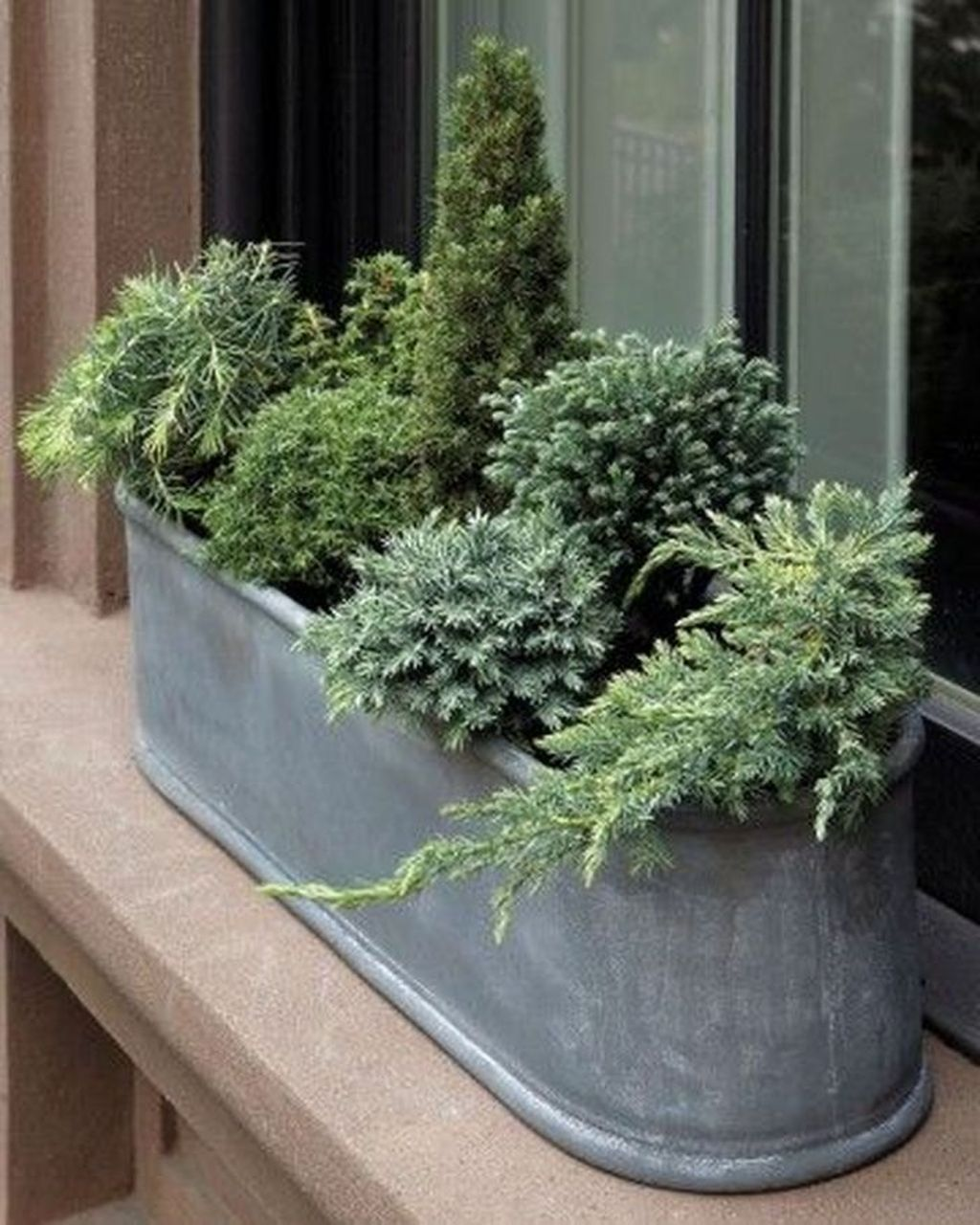 Beautiful Fall Window Boxes Design Ideas 26