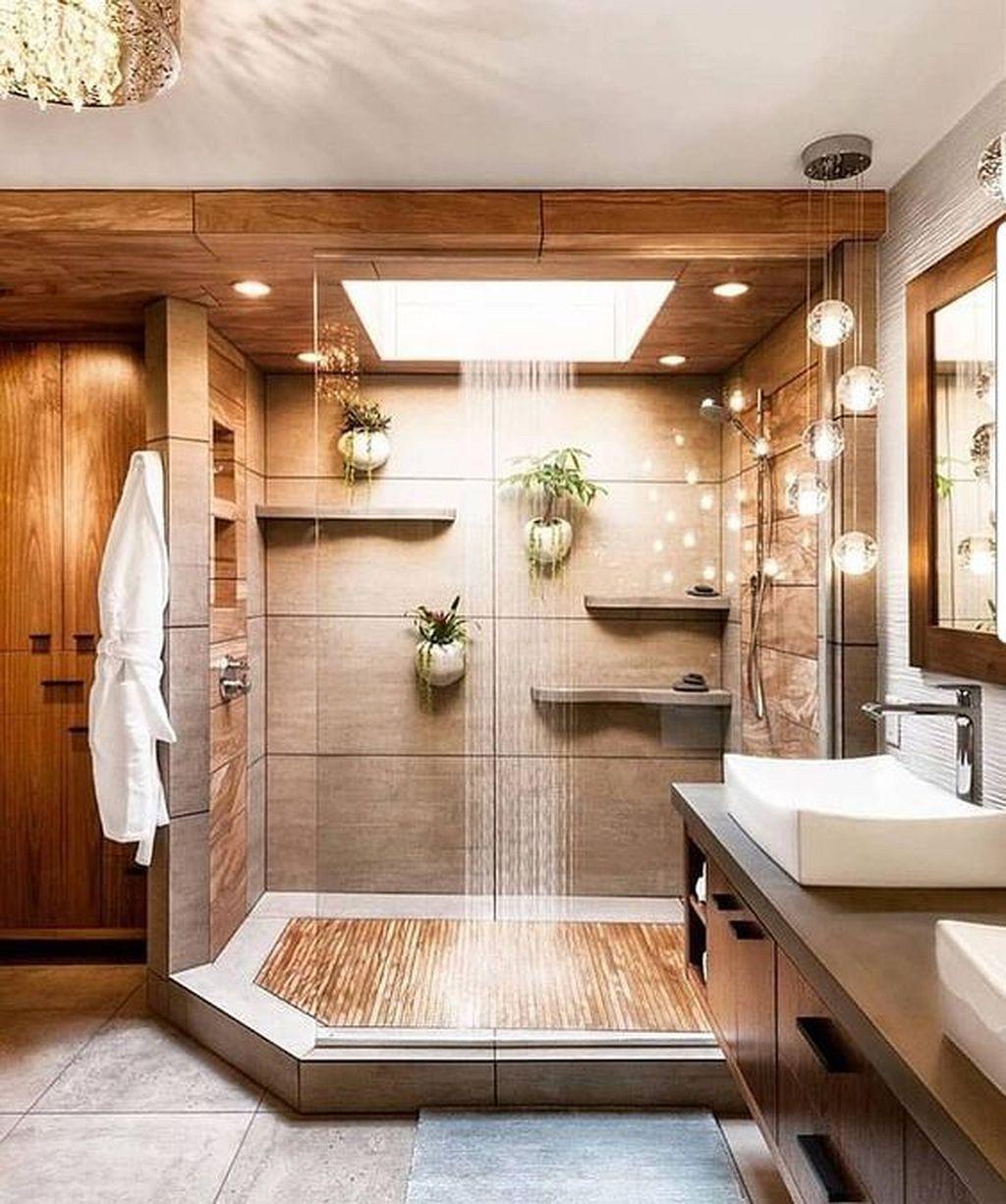 Beautiful Master Bathroom Design Ideas 40
