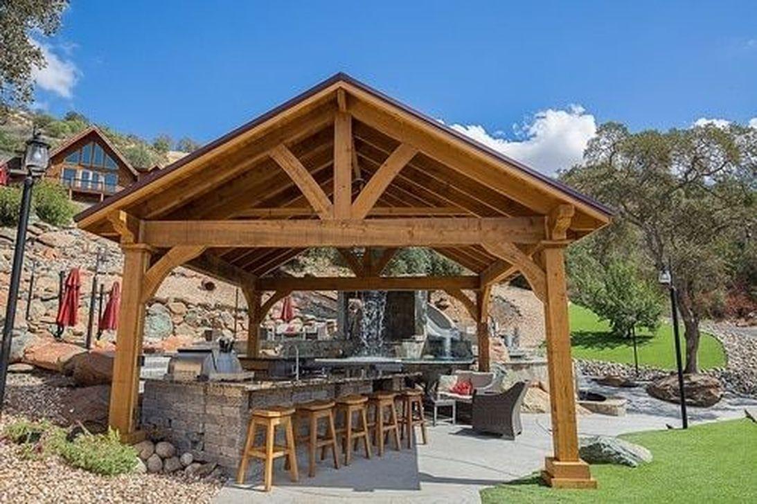 Fabulous Backyard Design Ideas With Western Style 07