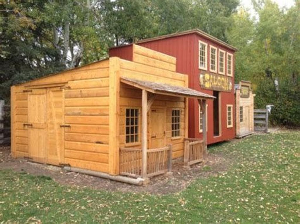 Fabulous Backyard Design Ideas With Western Style 26