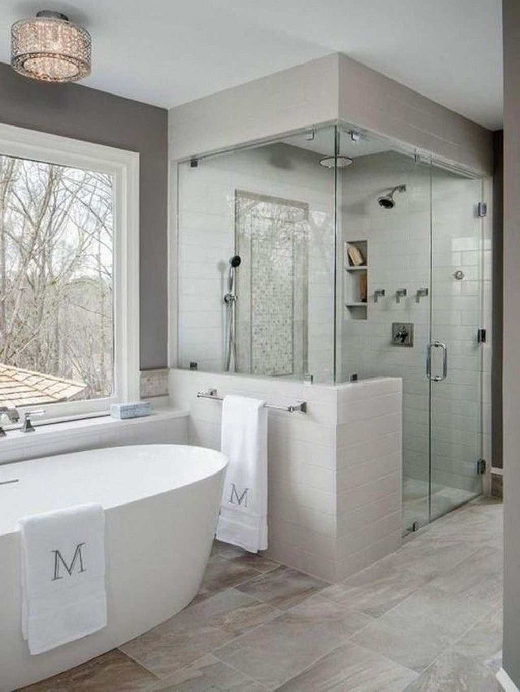 Fabulous Modern Master Bathroom Design Ideas 02