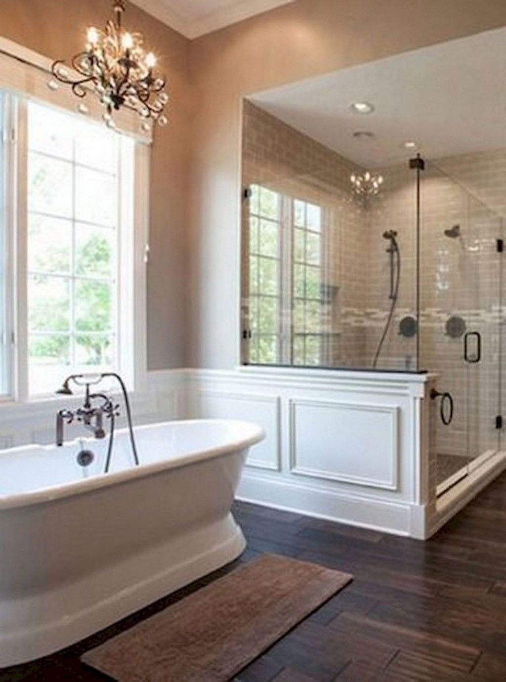 Fabulous Modern Master Bathroom Design Ideas 10