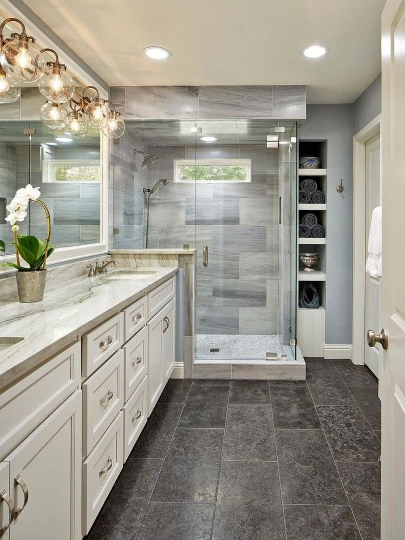 Fabulous Modern Master Bathroom Design Ideas 16