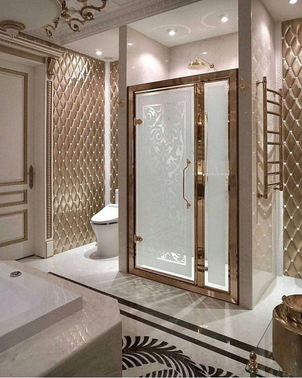 Fabulous Modern Master Bathroom Design Ideas 27