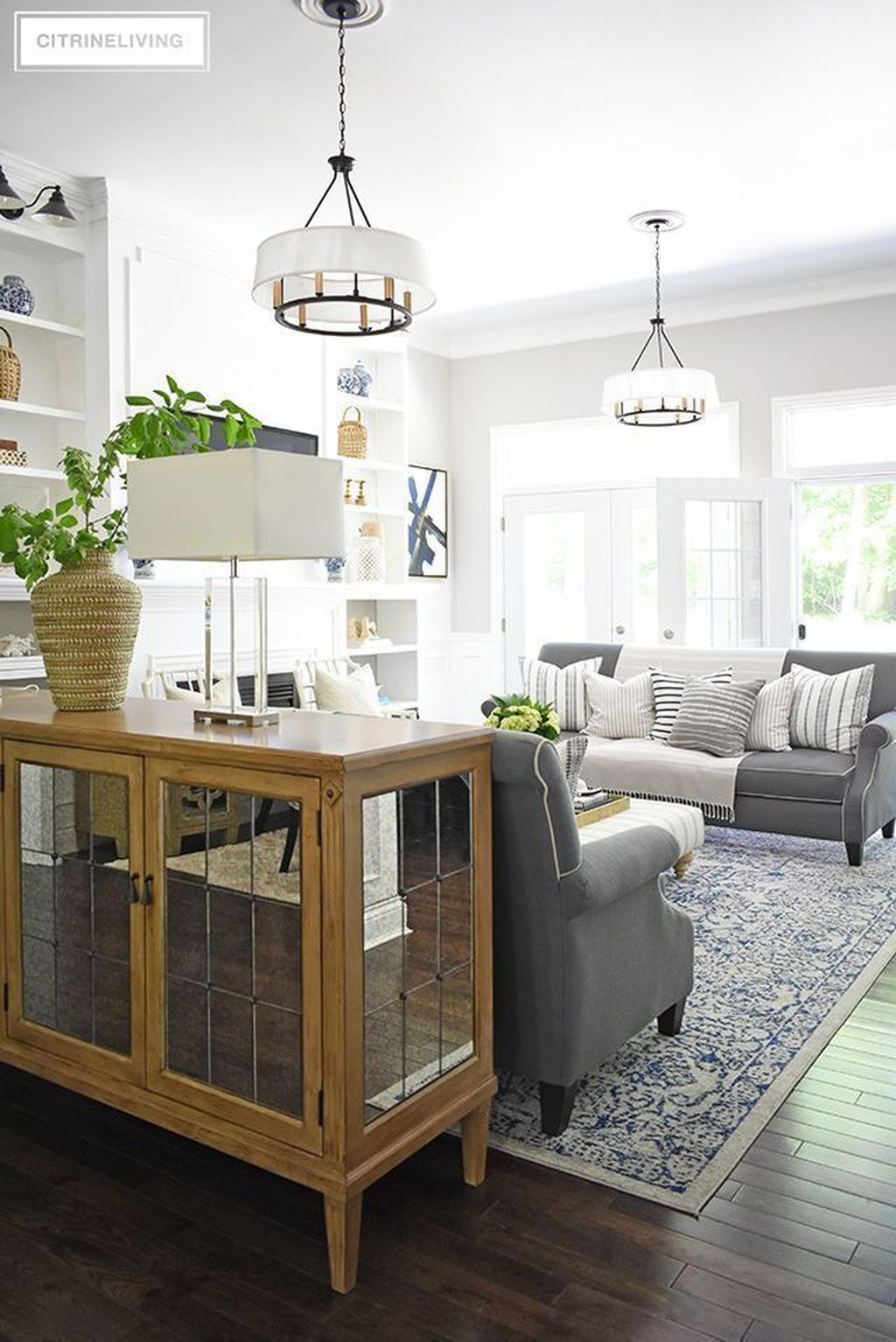 Fabulous Summer Living Room Decor Ideas 09