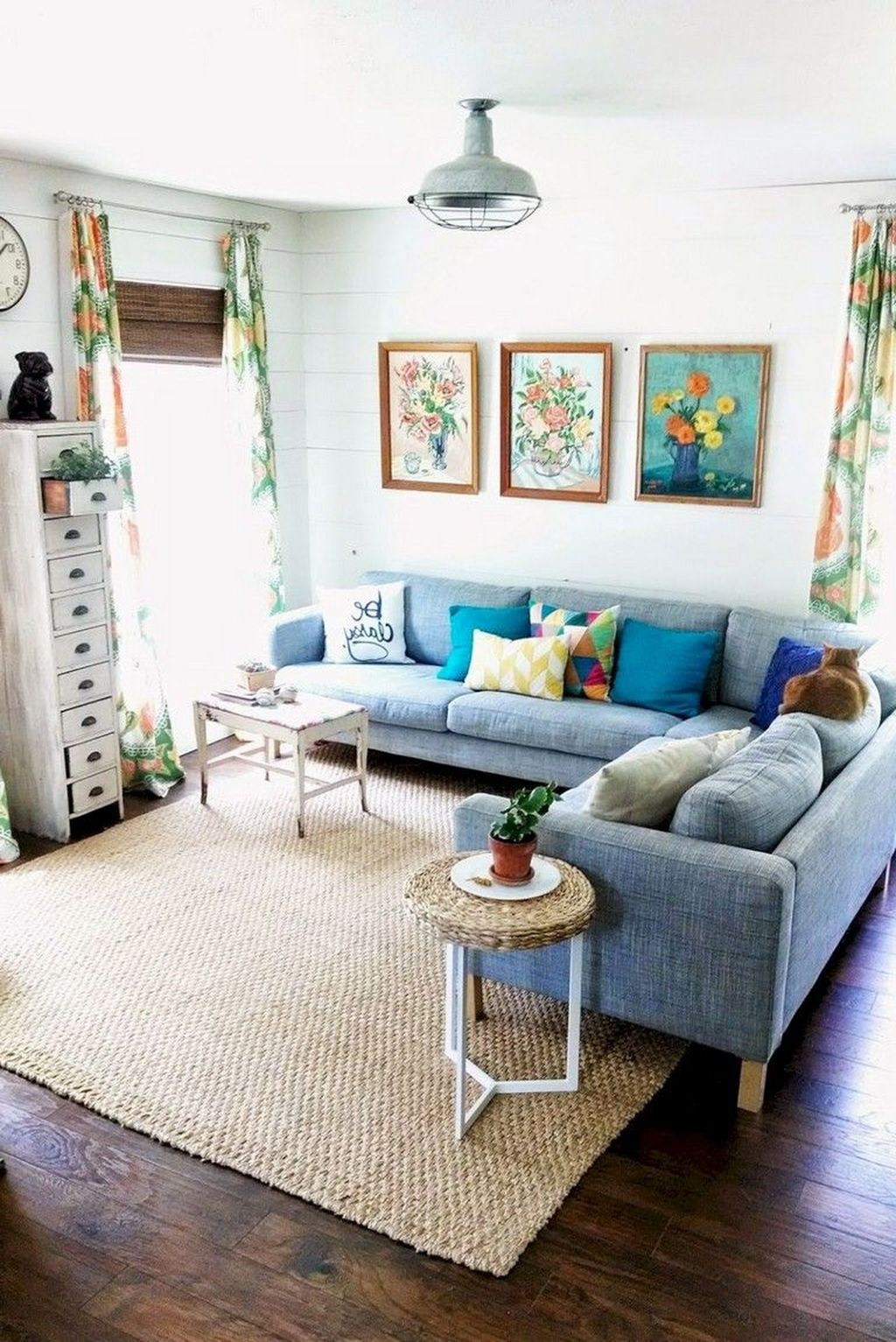 Fabulous Summer Living Room Decor Ideas 27