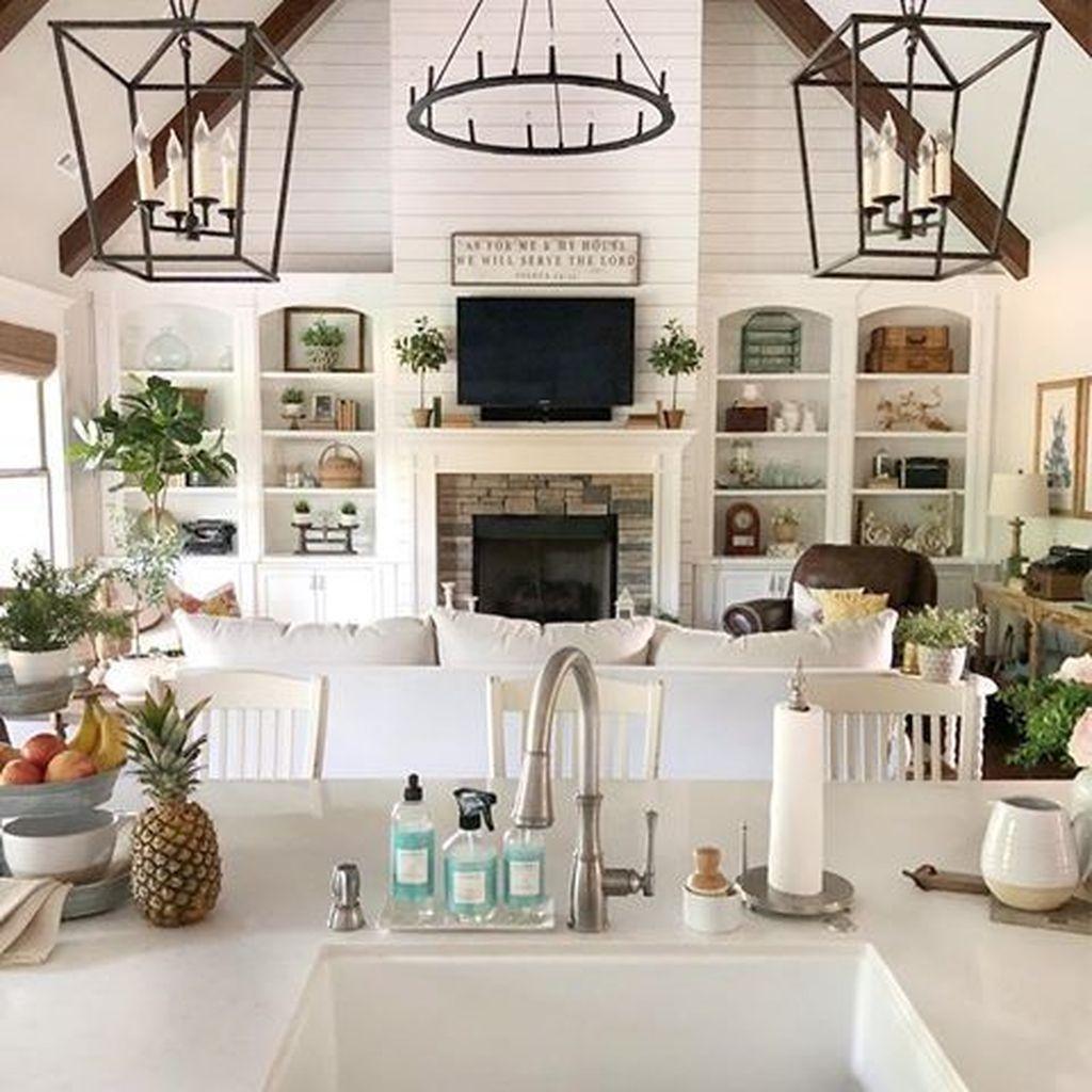 Fabulous Summer Living Room Decor Ideas 31
