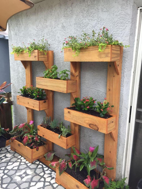 Gorgeous Vertical Garden Ideas Wall Decor 03