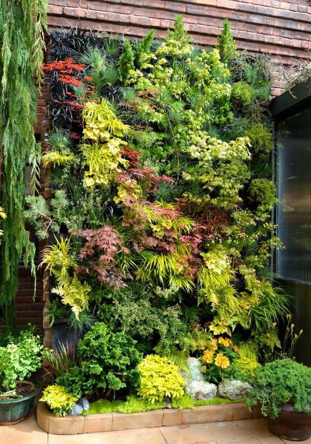 Gorgeous Vertical Garden Ideas Wall Decor 15