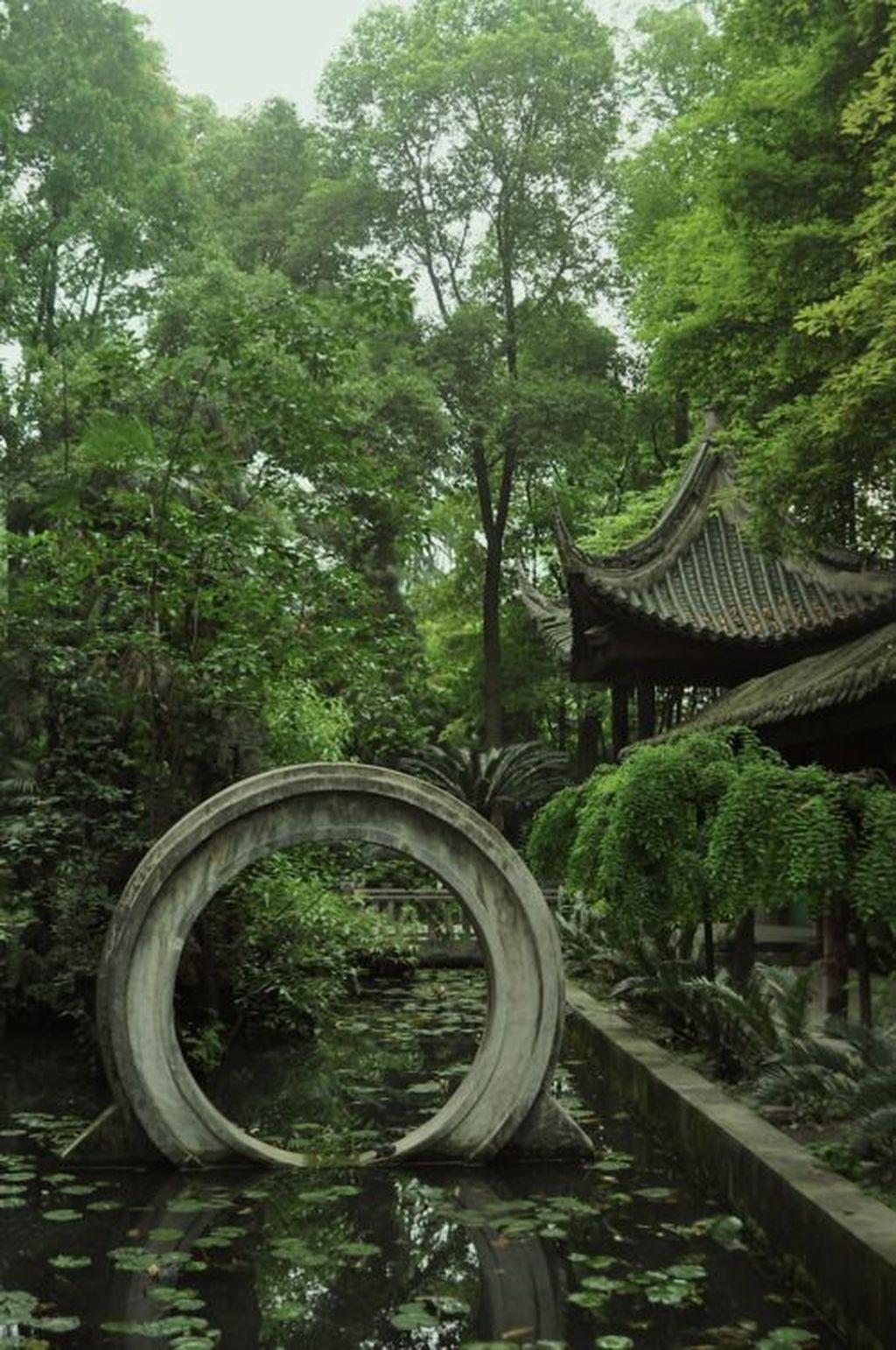 Incredible Heavenly Moon Gate Design Ideas 14