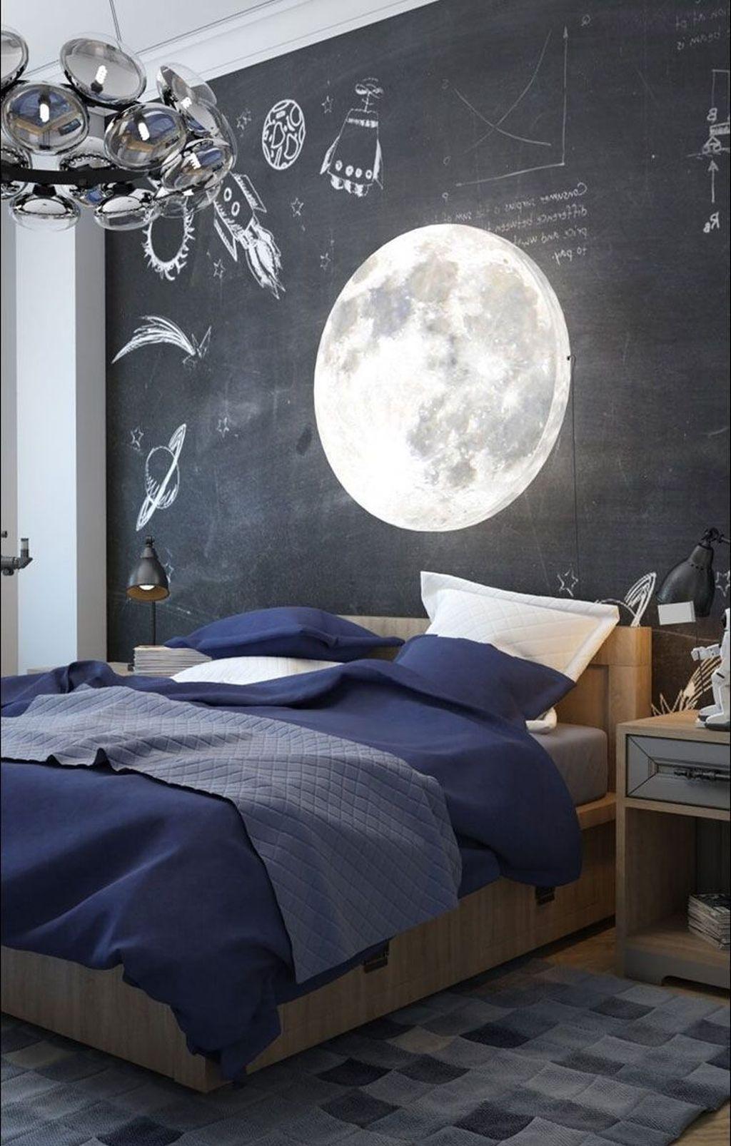 Inspiring Outer Space Bedroom Decor Ideas 06
