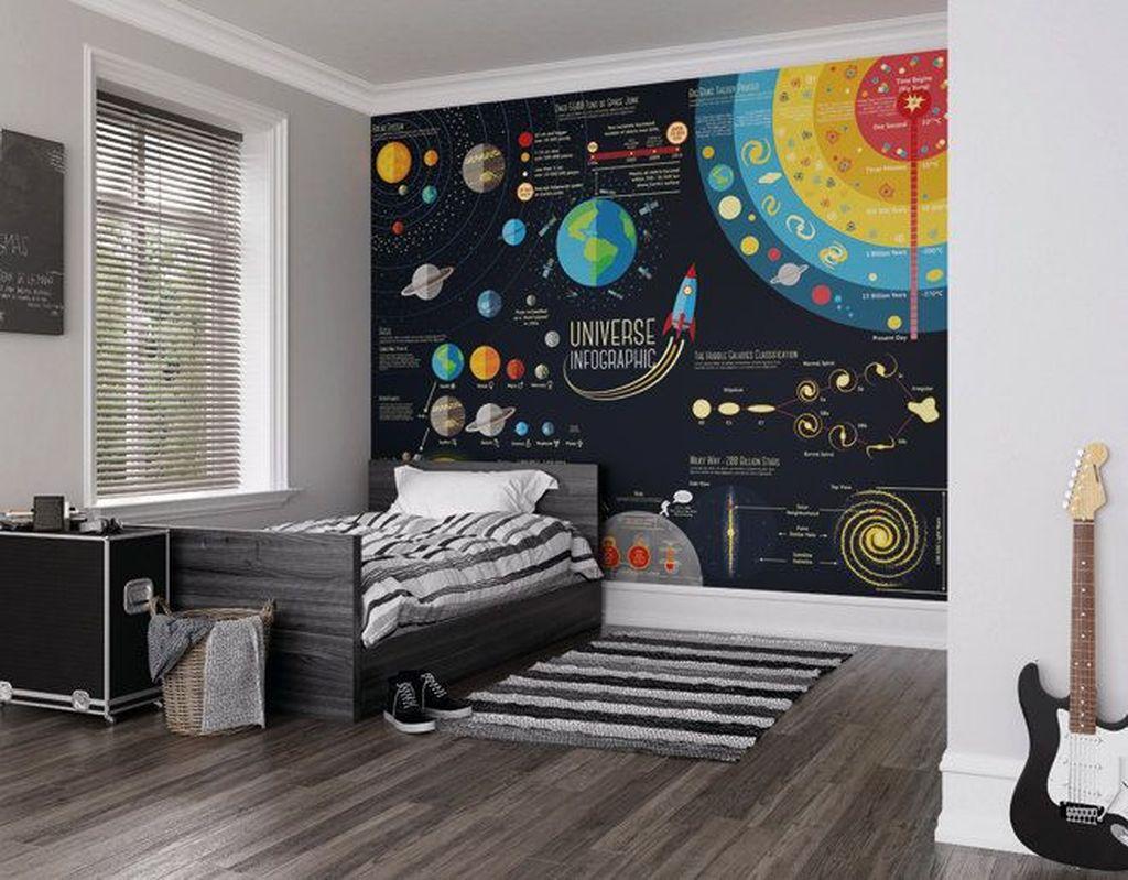 Inspiring Outer Space Bedroom Decor Ideas 23