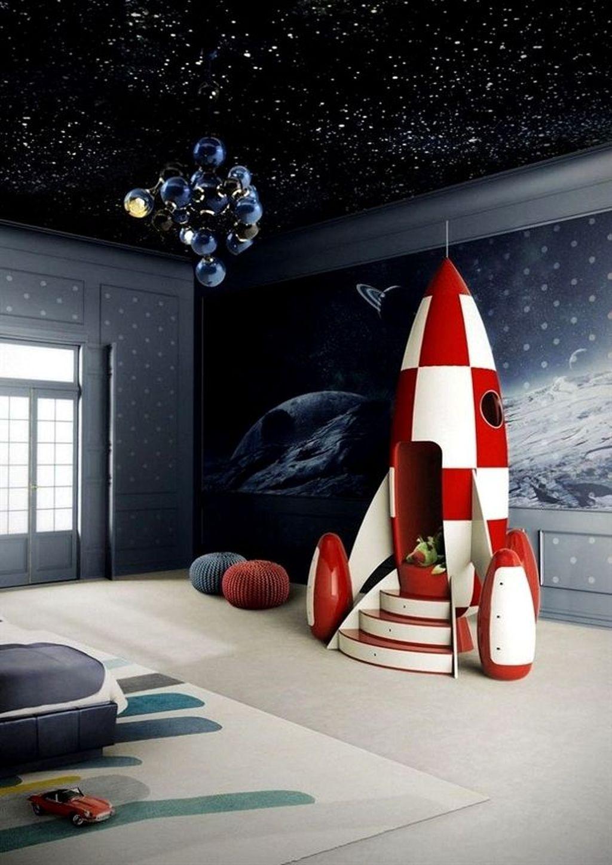 Inspiring Outer Space Bedroom Decor Ideas 24