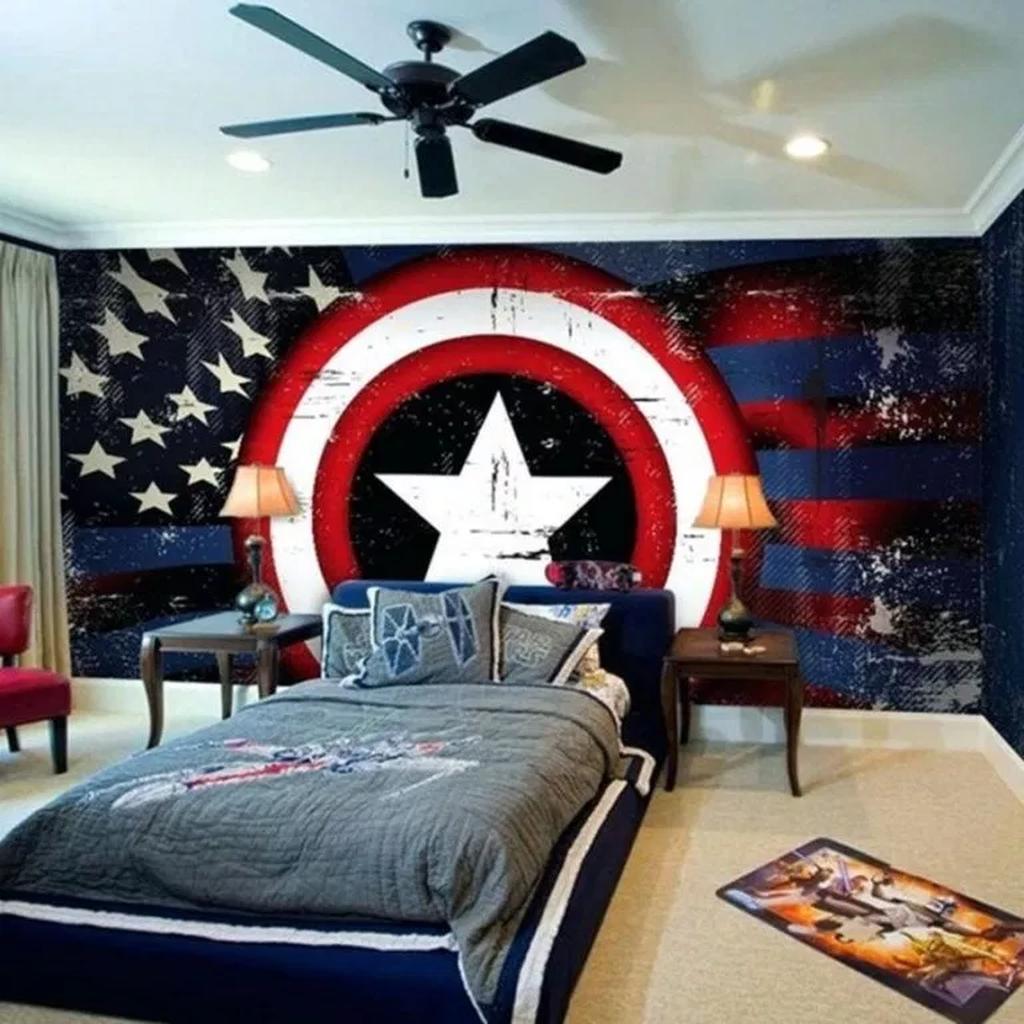 Inspiring Outer Space Bedroom Decor Ideas 28