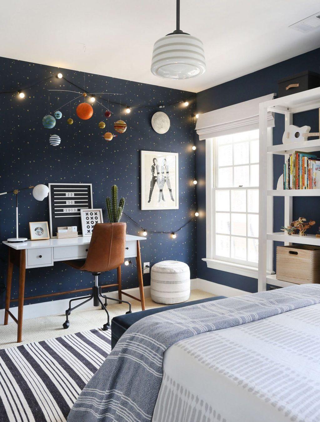 Inspiring Outer Space Bedroom Decor Ideas 30