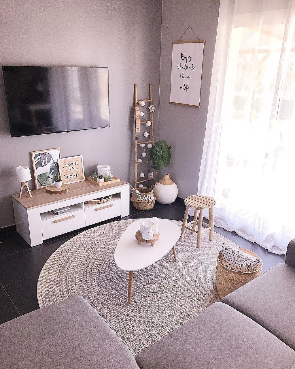 Inspiring Small Living Room Decor Ideas 19