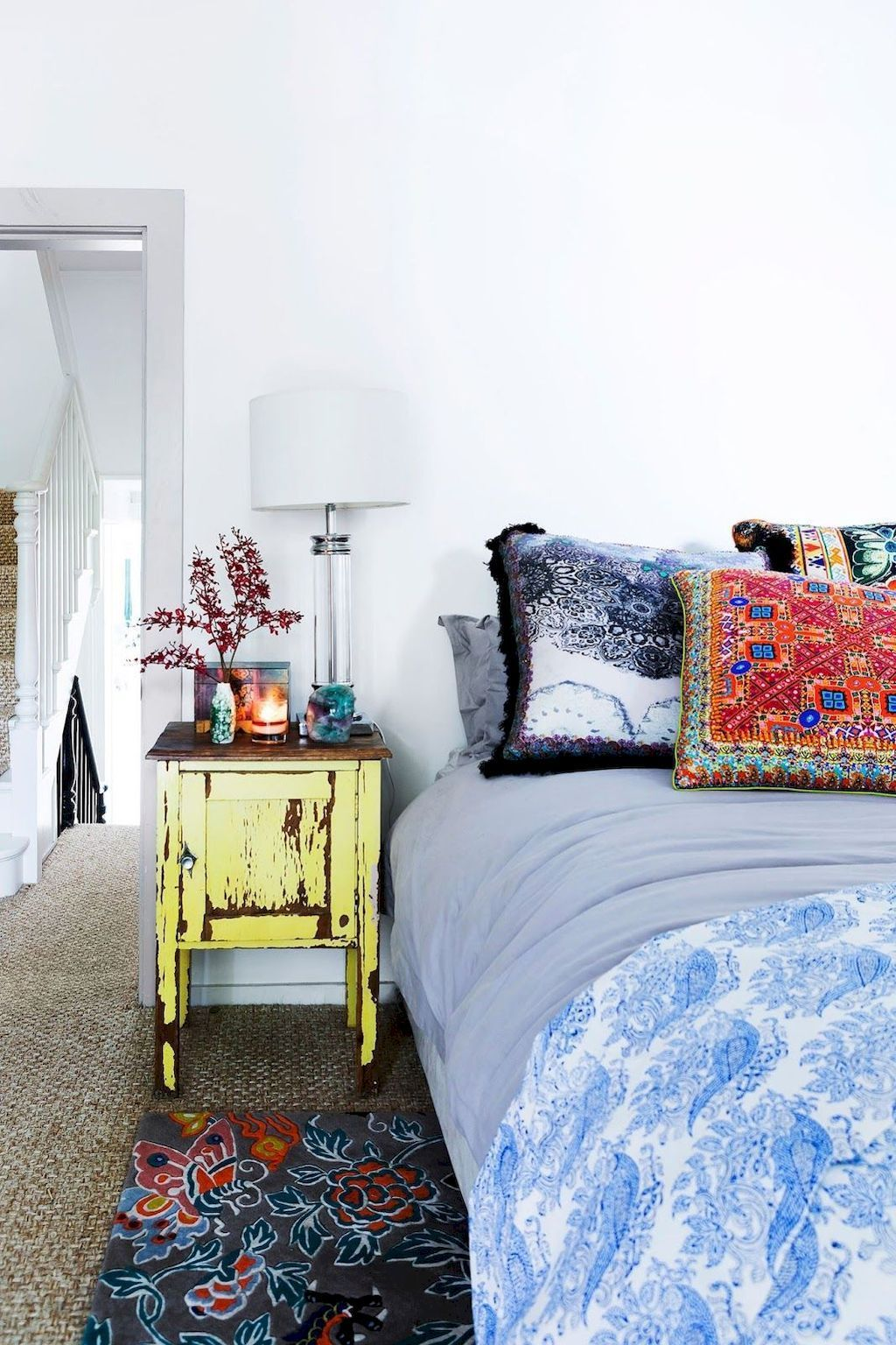 Lovely Eclectic Bedroom Decor Ideas 20