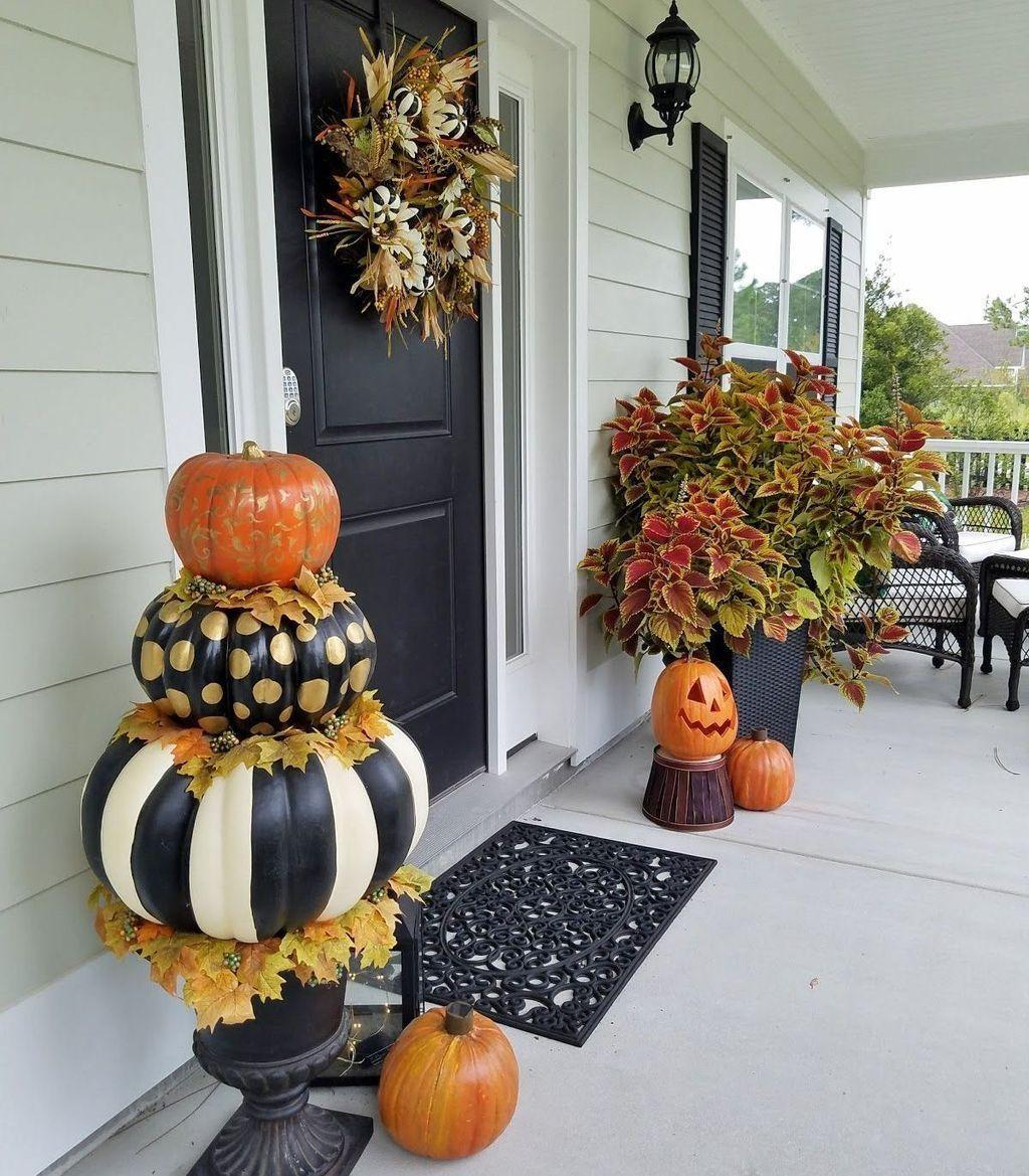 Lovely Fall Pumpkin Decor Ideas 01