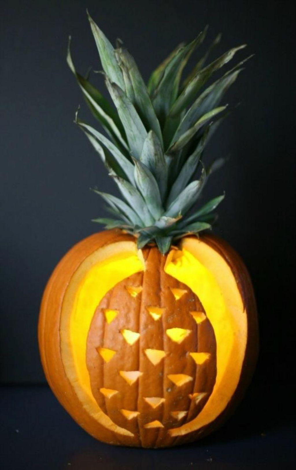 Lovely Fall Pumpkin Decor Ideas 19