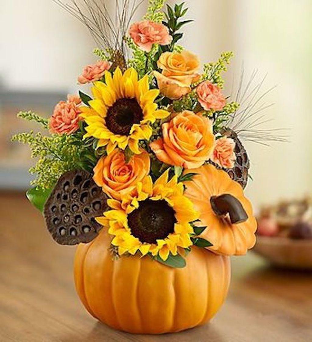 Lovely Fall Pumpkin Decor Ideas 21
