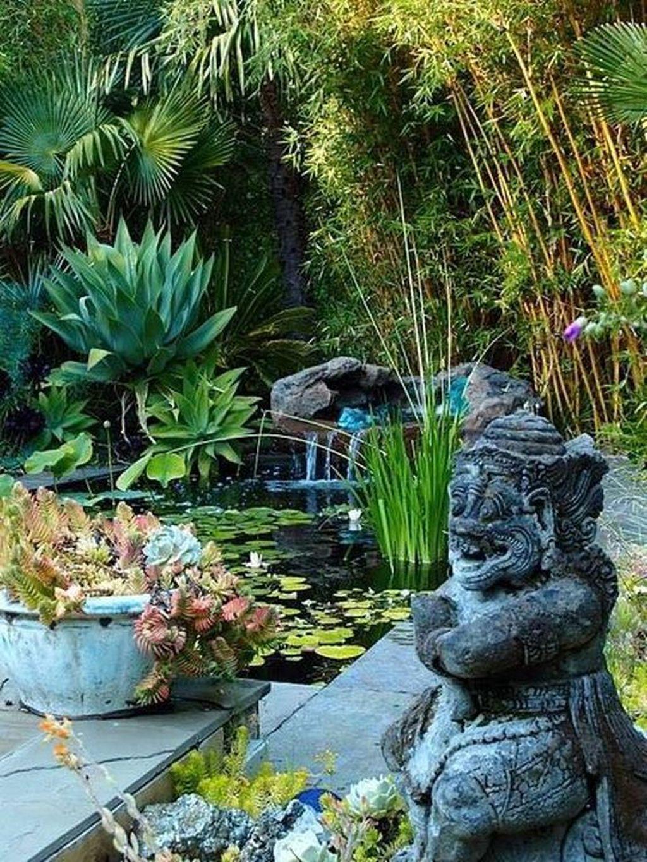 Lovely Tropical Garden Design Ideas 23