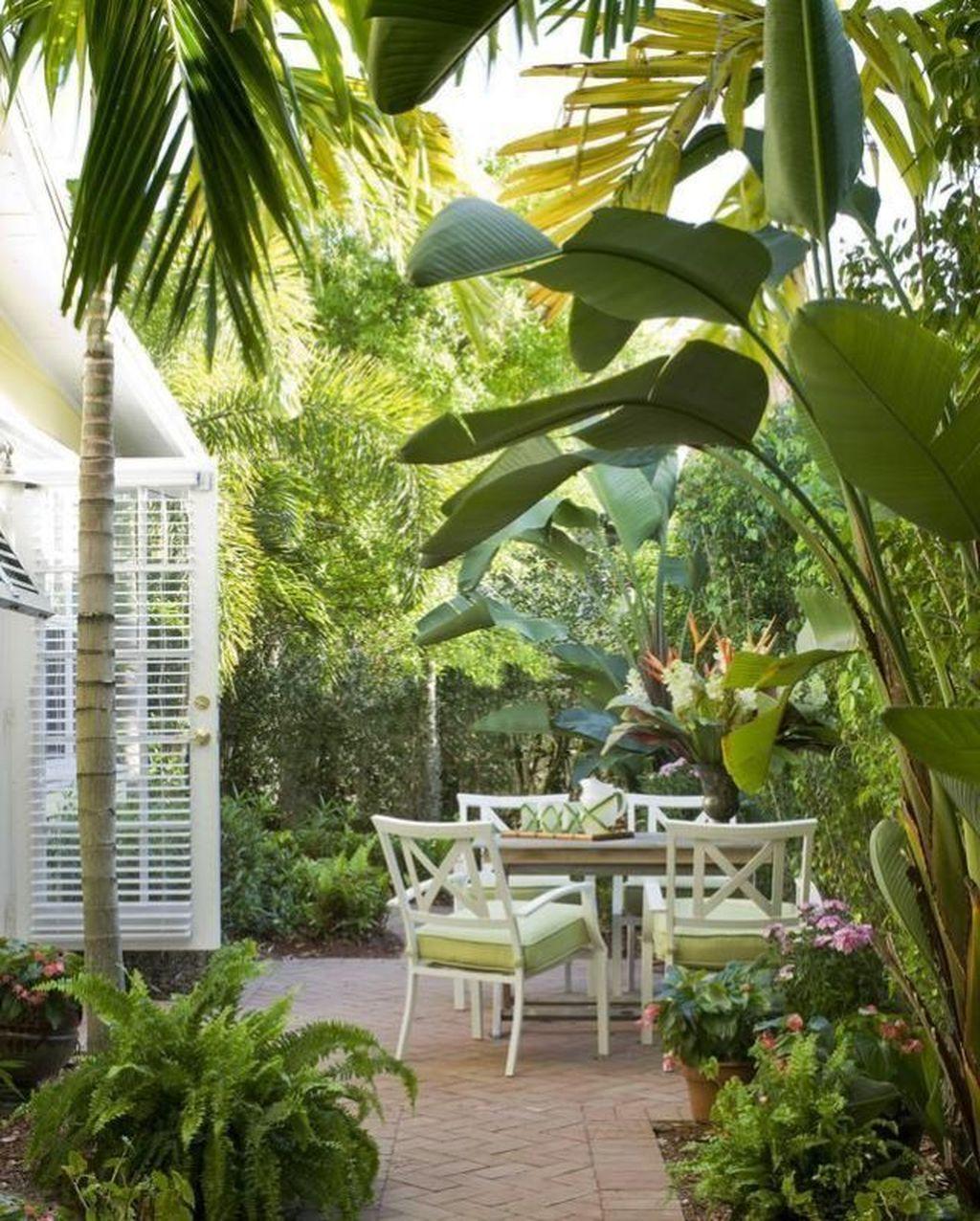 Lovely Tropical Garden Design Ideas 27