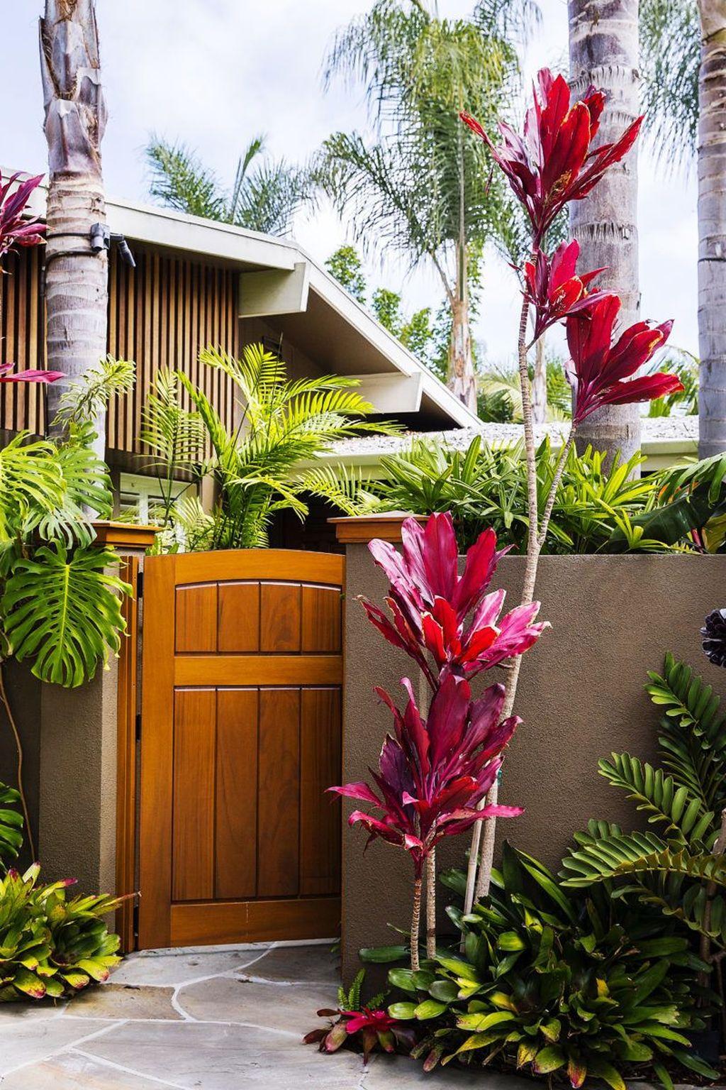 Lovely Tropical Garden Design Ideas 29