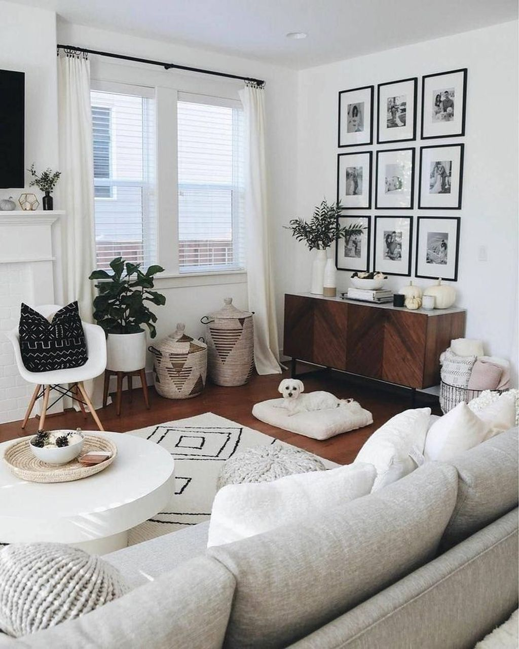 Nice Boho Farmhouse Design Ideas For Your Living Room Decoration 01