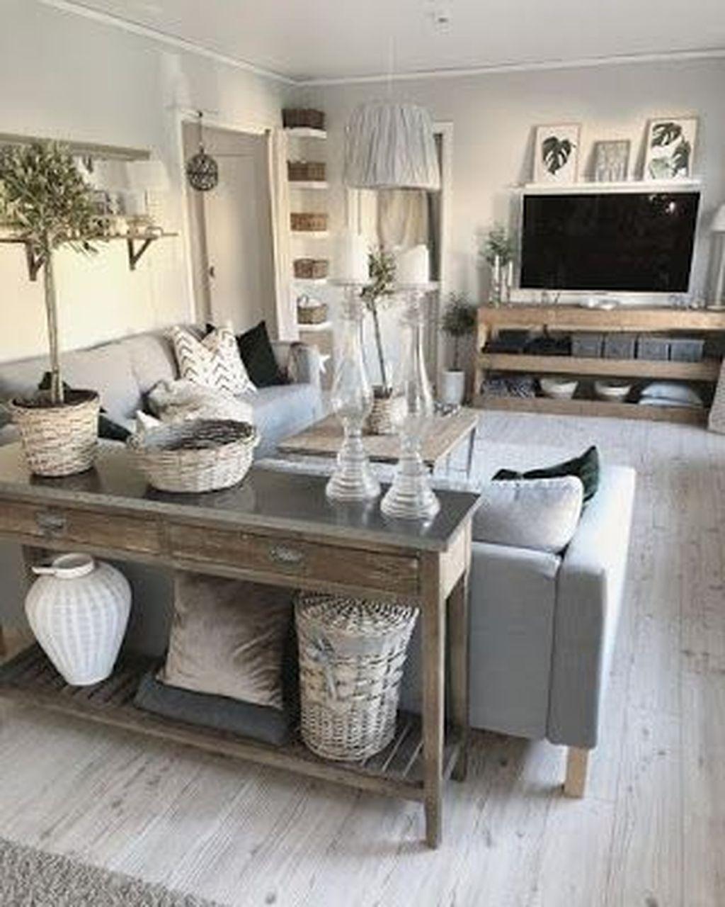 Nice Boho Farmhouse Design Ideas For Your Living Room Decoration 04