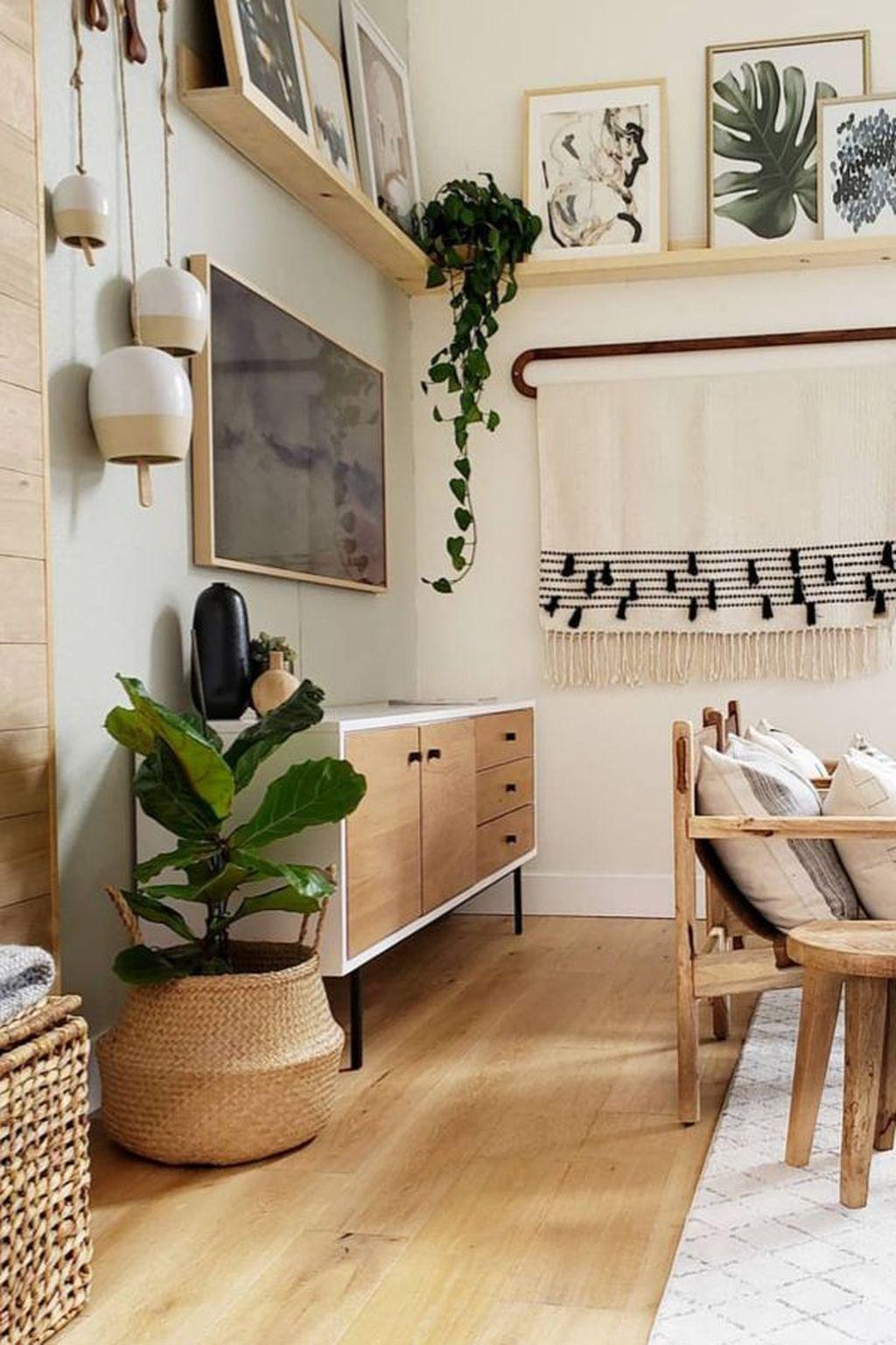 Nice Boho Farmhouse Design Ideas For Your Living Room Decoration 15