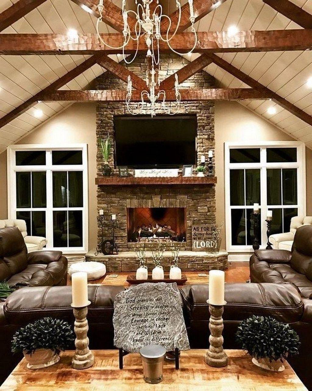 Nice Boho Farmhouse Design Ideas For Your Living Room Decoration 16