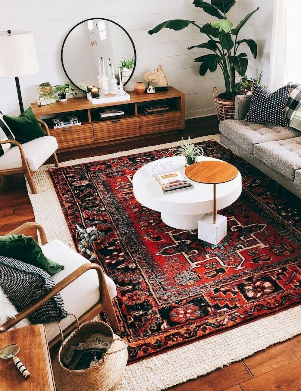 Nice Boho Farmhouse Design Ideas For Your Living Room Decoration 21