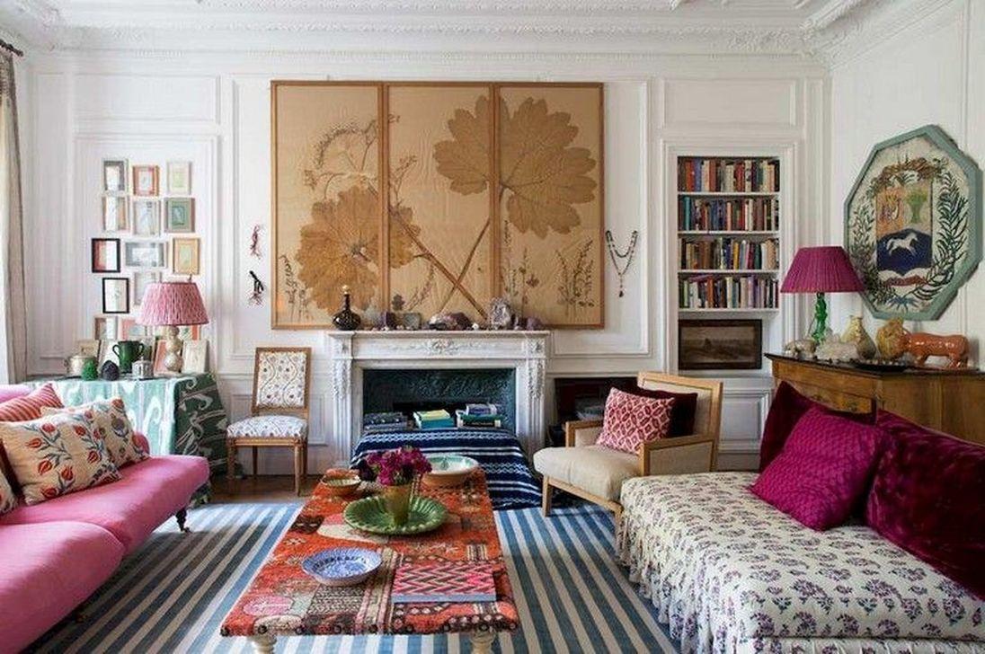 Nice Eclectic Parisian Home Decoration Ideas 02