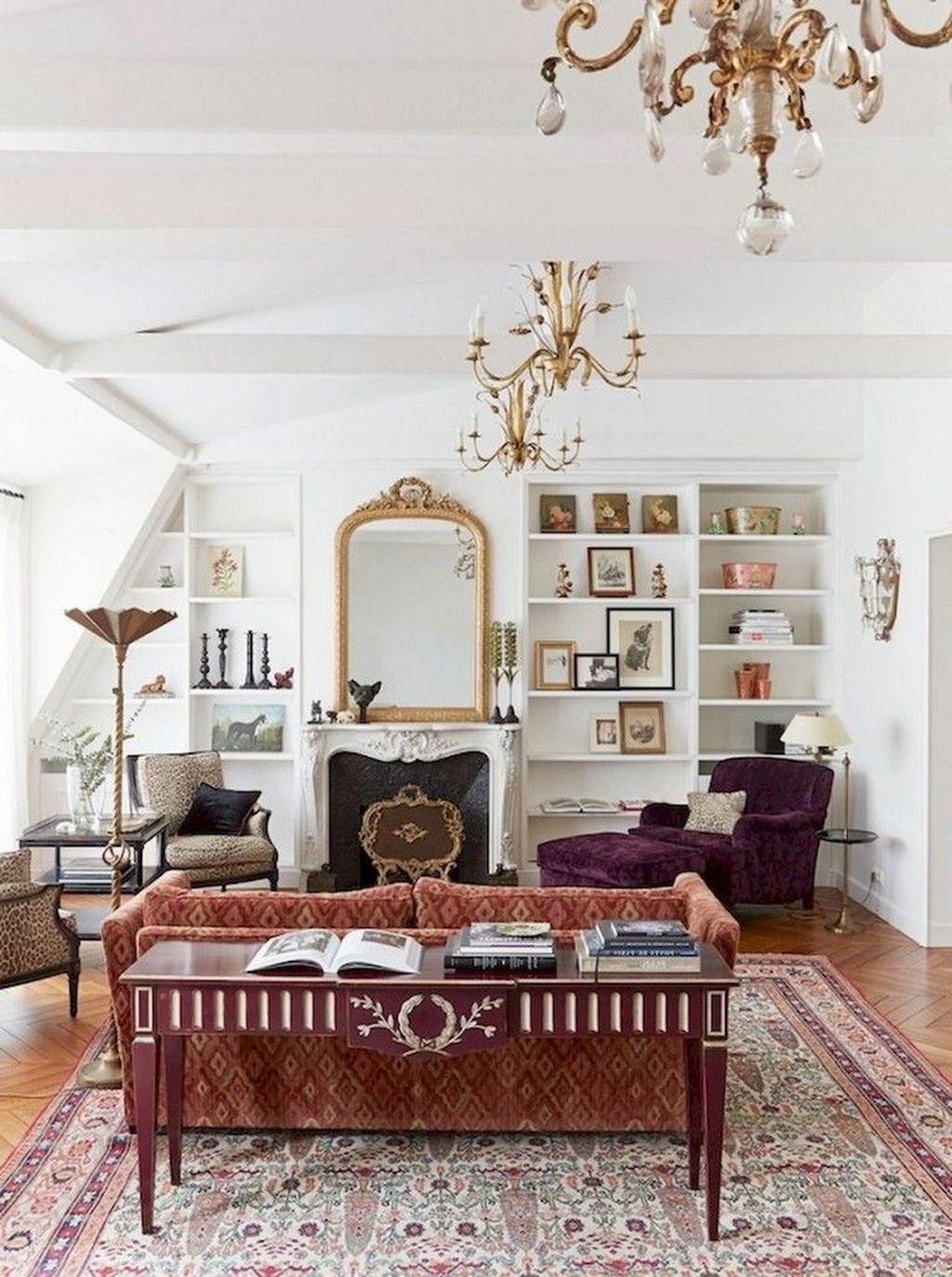 Nice Eclectic Parisian Home Decoration Ideas 09