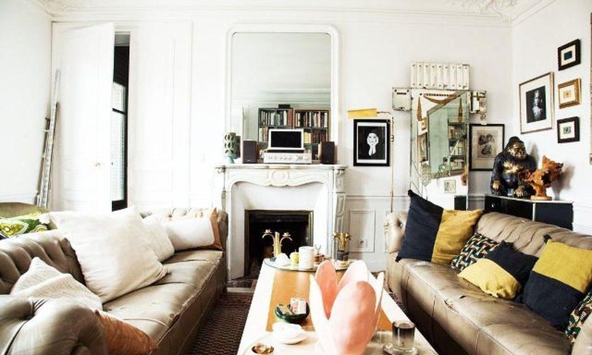 Nice Eclectic Parisian Home Decoration Ideas 13